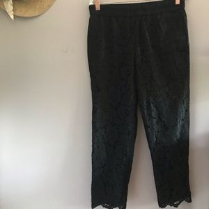 J crew Lace Trousers